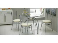 4 chair dining table