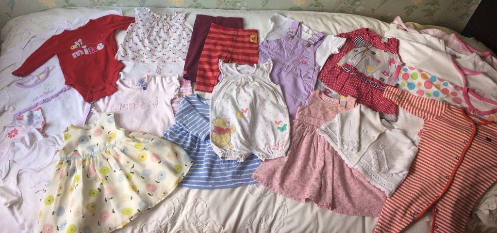 Baby Gorgeous Baby Girl 3-6 Months Bundle Inc Next And Jasper Conran