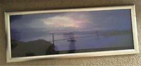 Large San Francisco/ Golden Gate Bridge picture