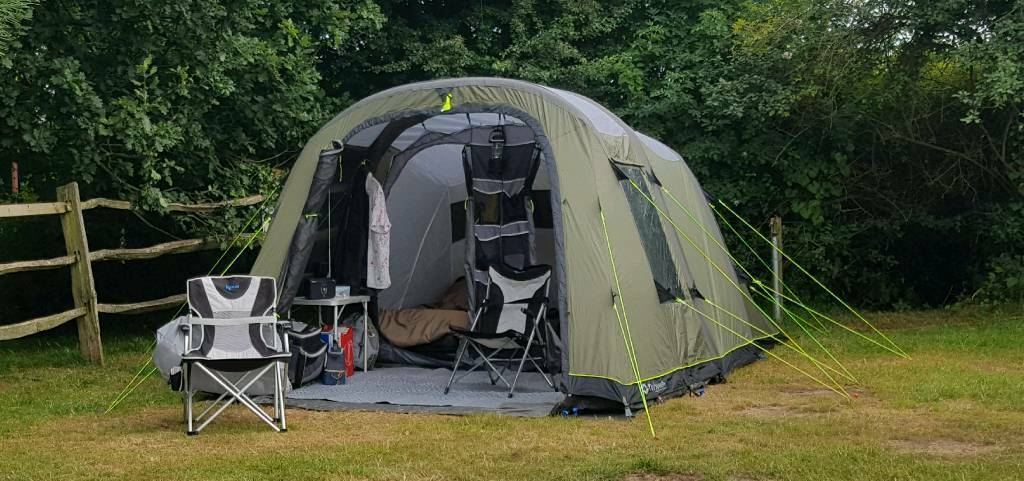 OUTWELL CORVETTE M 4 MAN INFLATABLE AIR TENT & OUTWELL CORVETTE M 4 MAN INFLATABLE AIR TENT | in Reading ...