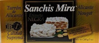 Sanchis Mira Turron de Alicante 7 oz Just arrived from Spain