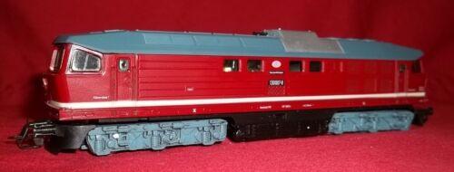 Berliner Bahnen 1:120 model TT Loco BR130 Diesel Locomotive Train In Box Papers