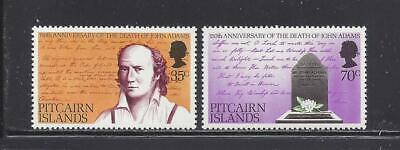 PITCAIRN ISLANDS - 182-183 - MNH - SINGLES & GUTTER PRS - 1979 - JOHN ADAMS