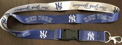 MLB New York Yankees Baseball Breakaway Lanyard New MLB Clip Detachable ID ](New York Yankee Baseball)