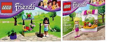 2x Lego Friends NEU 2014 Exklusiv Sets Emma Stephanie 30112 30113