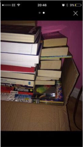 Box of all sorted books 45+