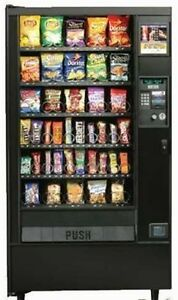 AP 933 snack vending machine with bill validator and warranty !