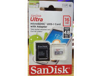 SanDisk 16gb Ultra Micro SD Card