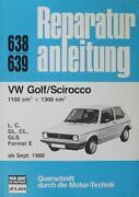 Reparaturanleitung Golf 1