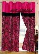 Pink Curtain Tie Backs