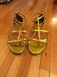 Gold sandals Windsor Region Ontario image 1