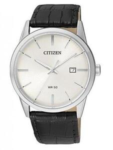 Citizen Mens Quartz Stainless Steel and Leather Casual Watch, C  BI5000-01A