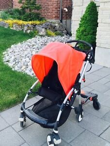 BUGABOO BEE STROLLER (RED), GREAT CONDITION London Ontario image 1