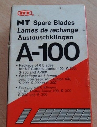 PEN KNIFE Or NT CUTTER SPARE BLADES - 6 Pieces of UNUSED, SHARP & MINT Blades