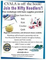 Volunteers and Learners for NIfty Needler's Workshops!