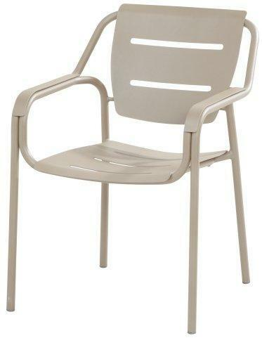 Super 4 Seasons Outdoor Eco Stacking Dining Chair Taupe Theyellowbook Wood Chair Design Ideas Theyellowbookinfo