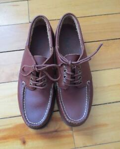 Ladies Size 7M Bass Leather Loafer Shoes