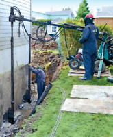 Foundation Repair and Stabilization (Underpinning)
