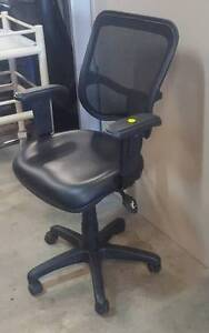 OFFICE CHAIR black mesh TASK Townsville Townsville City Preview