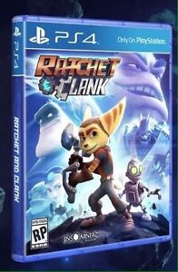 Ratchet and clank ps4 comme neuf Like new