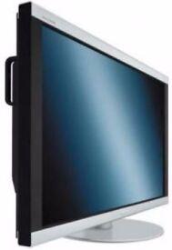 "46"" NEC LCD flatscreen plasma TV 1080p FullHD television, HDMI, VGA, DVI, stereo speakers"