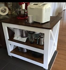 Rustic kitchen island/counter Kingston Kingston Area image 4