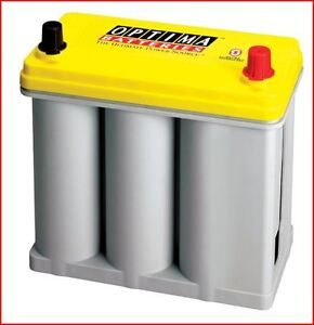 Batterie à décharge poussée Optima Jaune 12 V. 35