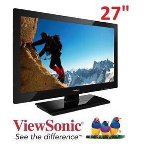 """NEW VIEWSONIC 27"""" 1080P LED HDTV VT2756-L 139286399 Televisions     ›     LED TVs"""