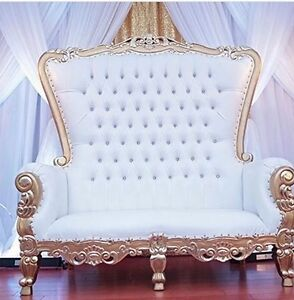 Rent Wedding Bride And Groom Love Seat Chairs