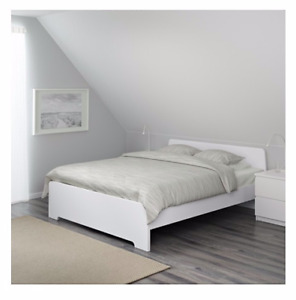 White IKEA bed frame for sale!