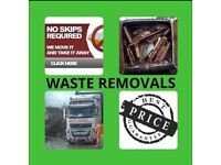 Waste removal, rubbish removal, wardrobes, beds, sofa, general waste, garden waste