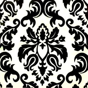 Black White damask table paper napkins serviettes 20pcs