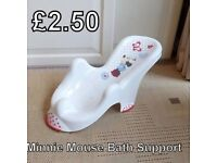 Minnie Mouse Baby Bath Support