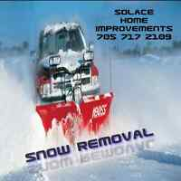 SNOW REMOVAL BY SOLACE HOME IMPROVEMENTS
