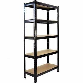 Metal shelfs 5 teir brand new