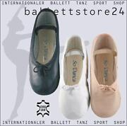 Ballettschläppchen Schwarz