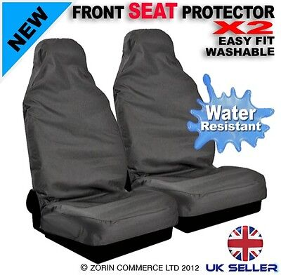 LAND ROVER DISCOVERY PAIR 2 CAR SEAT COVERS WATER PROOF