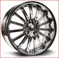 Roues (Mags) Elite Chrome PVD  5-114.3