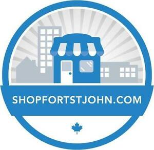 ShopFortStJohn.com Shop Local Website Business Opportunity