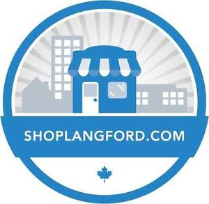ShopLangford.com Shop Local Website Business Opportunity