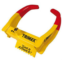 Trimax - Barrure pour roue / wheel chock lock
