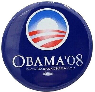 2008 Barack Obama Classic Campaign - 2008 Campaign Buttons