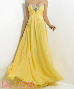 Prom/Formal Dress - Yellow Colour, size 6 London Ontario image 4