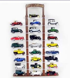2 - 25 CAR DISPLAY CASES FOR 1/32 SCALE DIECASTS
