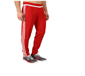 RED ADDIDAS PANTS, NEW