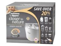 Tommee Tippee close to nature complete starter kit