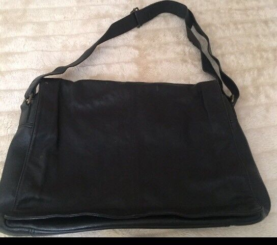 Soft Leather large messenger bag