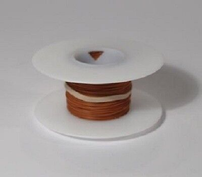 30 Awg Kynar Wire Wrap Ul1423 Solid Wiremod Type 100 Foot Spools Brown New