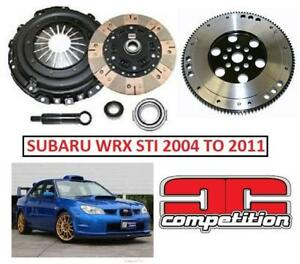 NEW CC STAGE 3 CLUTCH AND FLYWHEEL 15030-2600 212406993 AUTOMOTIVE PARTS SUBARU WRX STI 2004 TO 2011 6 SPEED Competit...