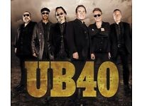 2 X tickets @£30 each for UB40 appearing in Bournemouth on Friday 21st October